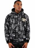 Tough Face Bionic Street Culture Print Hoodie