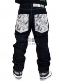 Dirty Money ® American $100 Dollar Jeans
