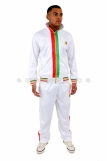 Raw Blue Full Zip Rasta Tracksuit