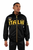 Raw Blue Full Zip Italia Track Jacket Black