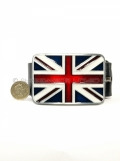 Union Jack British Flag England English Belt & Buckle