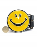 Yellow Smiley Face Belt & Buckle
